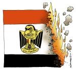 Egypt in fire