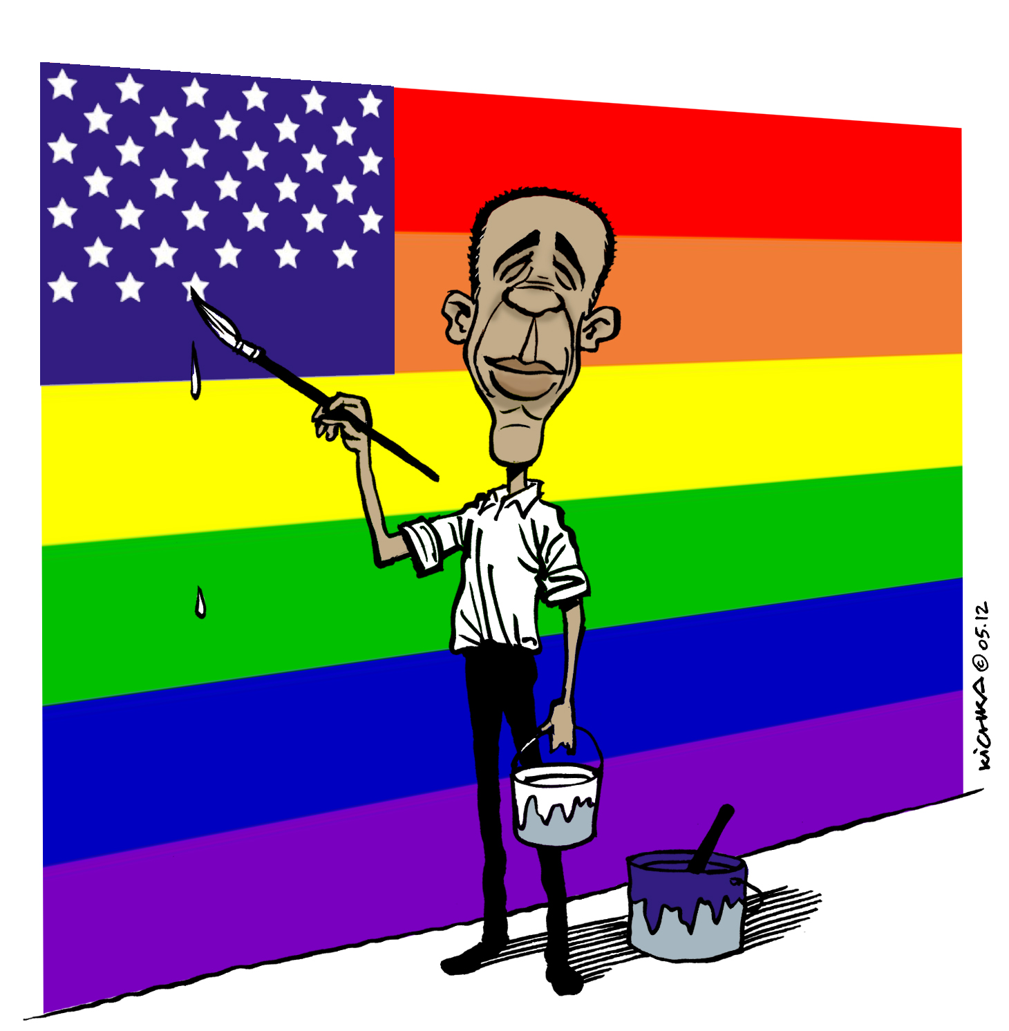 President obama backs gay marriage in abc interview