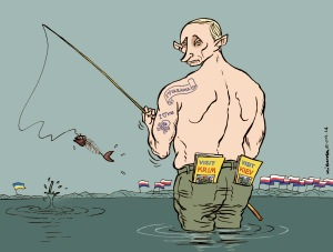Putine en Ukraine